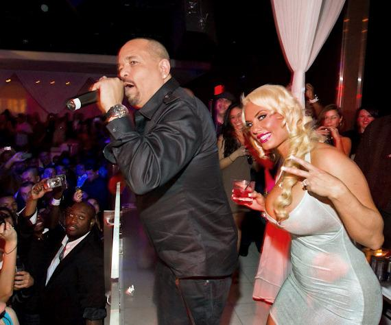 Ice-T and Coco at PURE Nightclub
