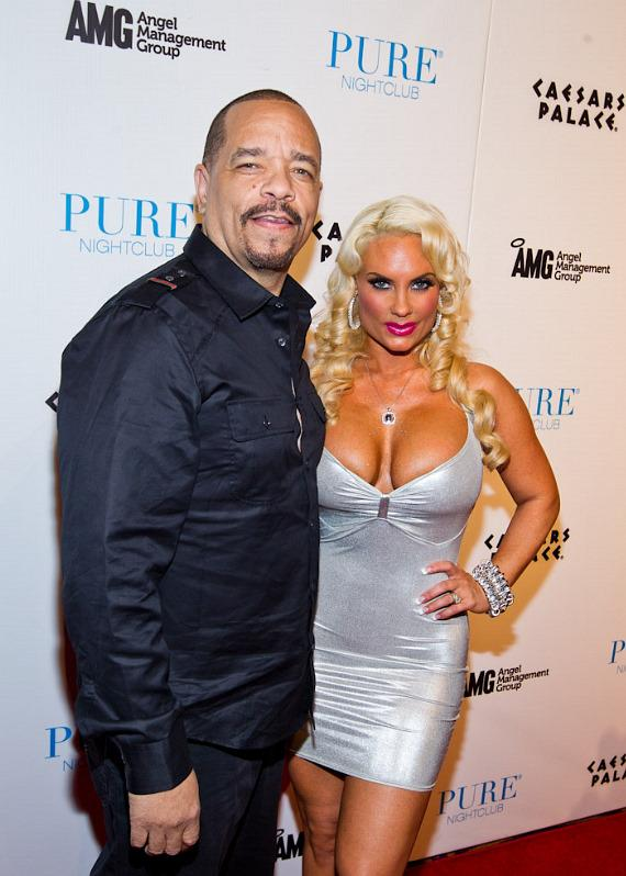 Ice-T and Coco on red carpet at PURE Nightclub