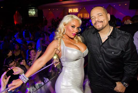 Coco and Ice-T at PURE Nightclub