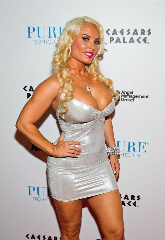 Coco on red carpet at PURE Nightclub