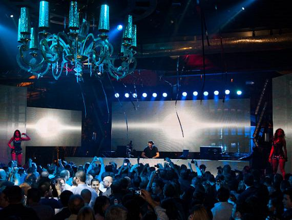 Tiesto performs at XS Nightclub