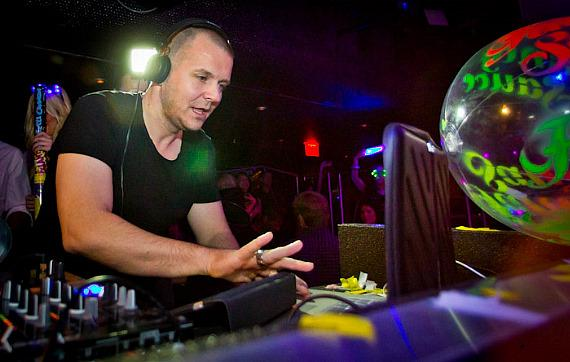 Moguai performs at Fancy Sauce at Moon Nightclub in The Palms