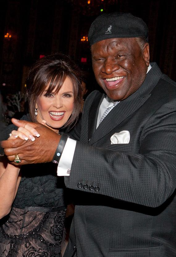 Marie Osmond and comedian George Wallace