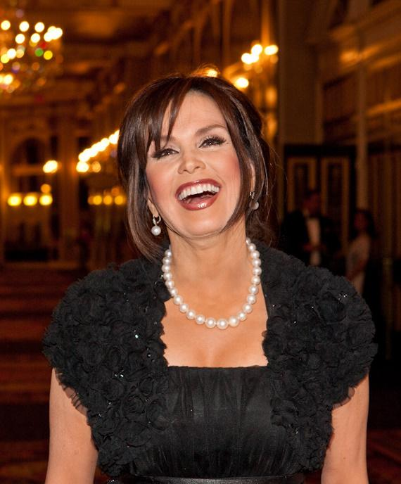 Nevada Ballet Theatre Honors Marie Osmond as 'Woman of the Year' for 2010 Black & White Ball