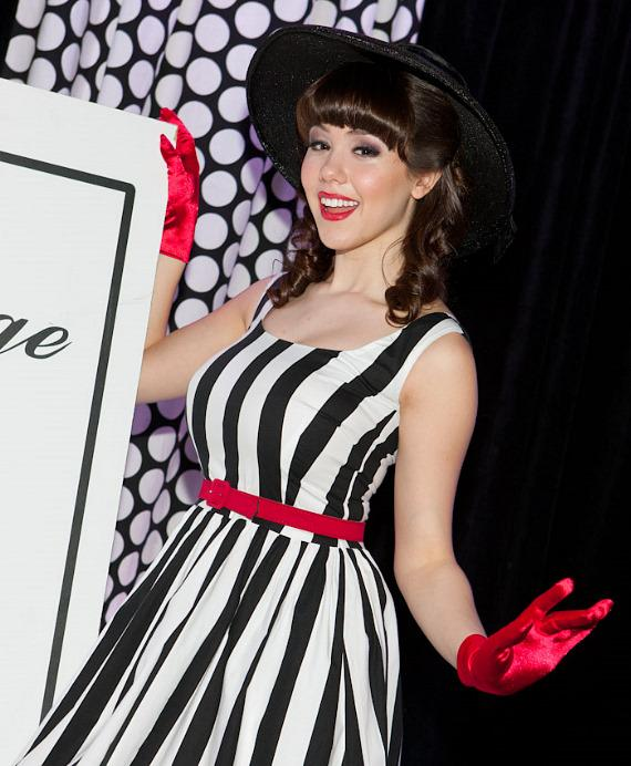 Claire Sinclair at Bettie Page Clothing Fashion Show