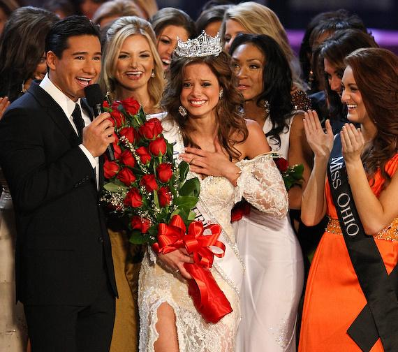 Miss Indiana Katie Stam Wins 2009 Miss America Pageant