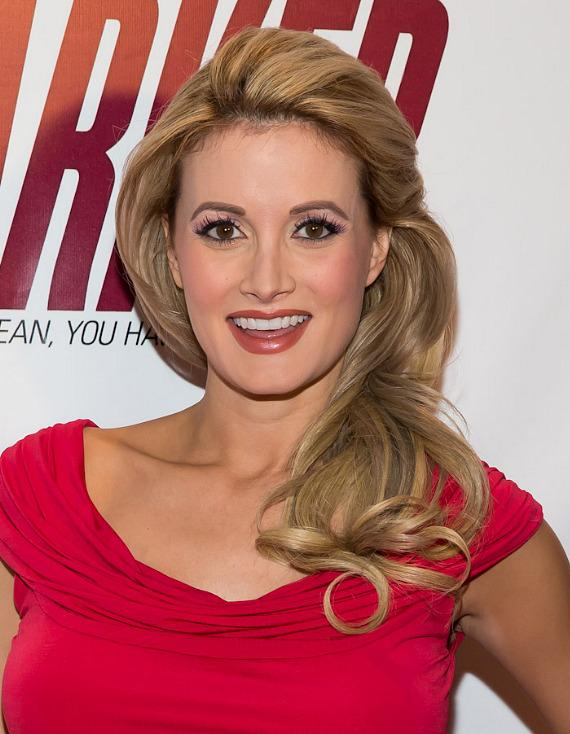 Holly Madison at  Red Carpet Premiere of PARKER at Planet Hollywood