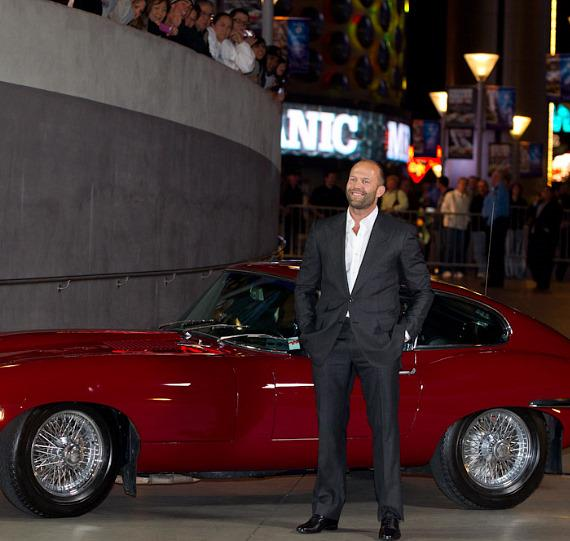 Jason Statham at Planet Hollywood