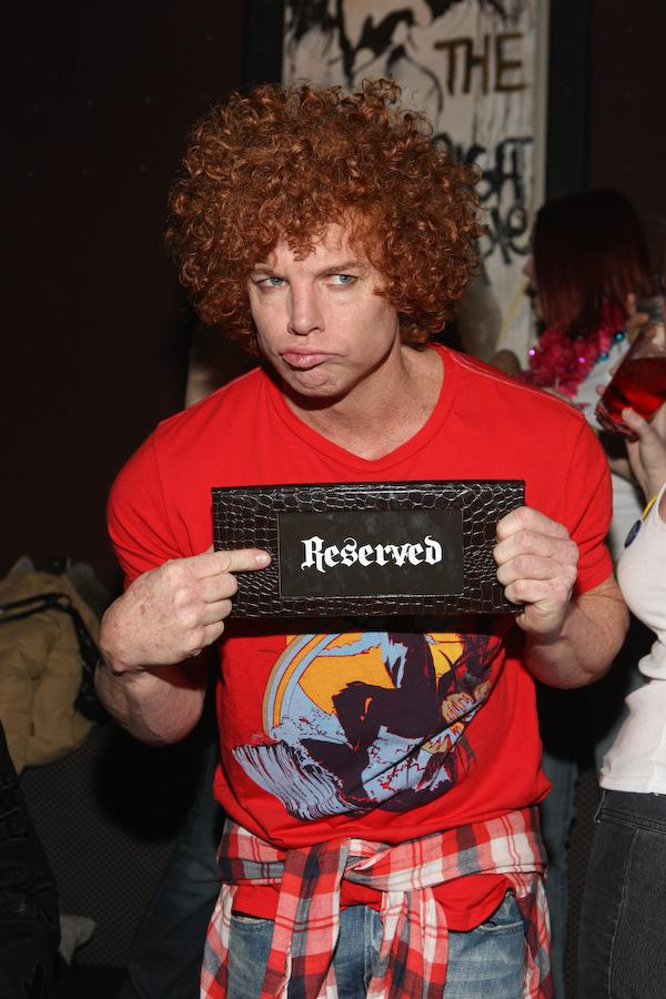 Carrot Top at the Hard Rock Hotel & Casino's Wasted Space