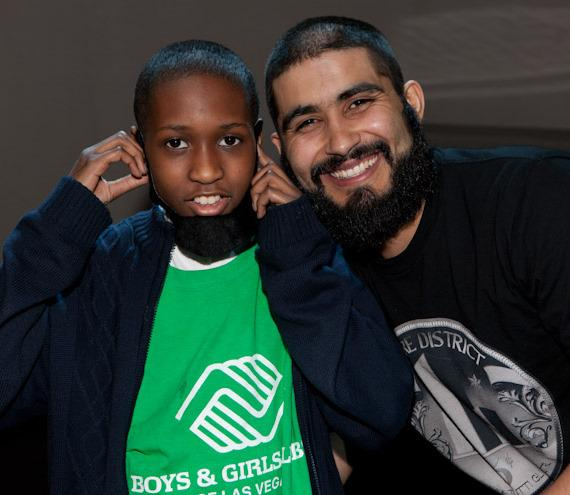SF Giant Sergio Romo visits Boys & Girls Clubs of Las Vegas at Palms Casino Resort