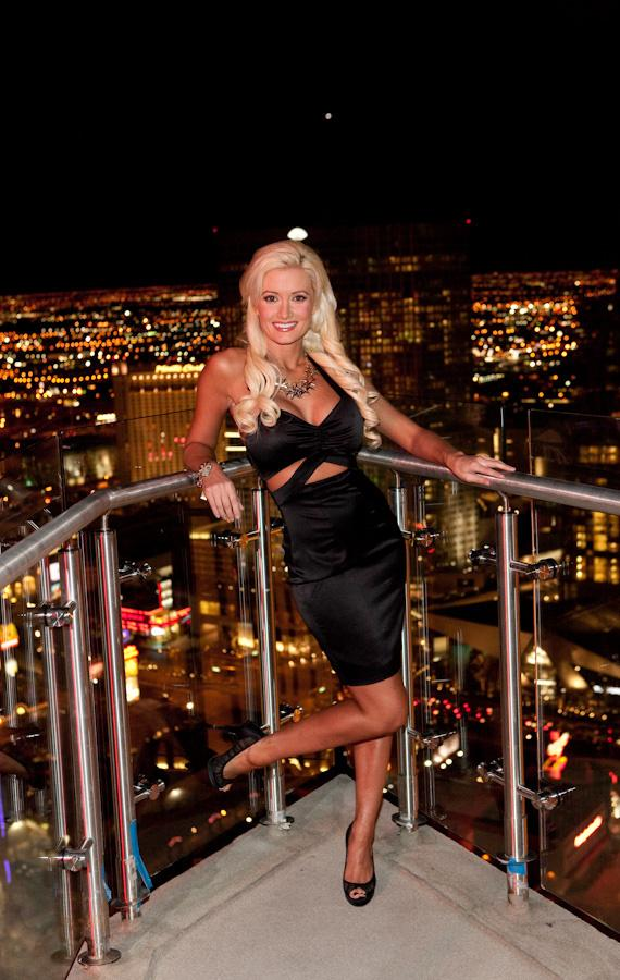 Holly Madison Christens the new PH Towers at Planet Hollywood