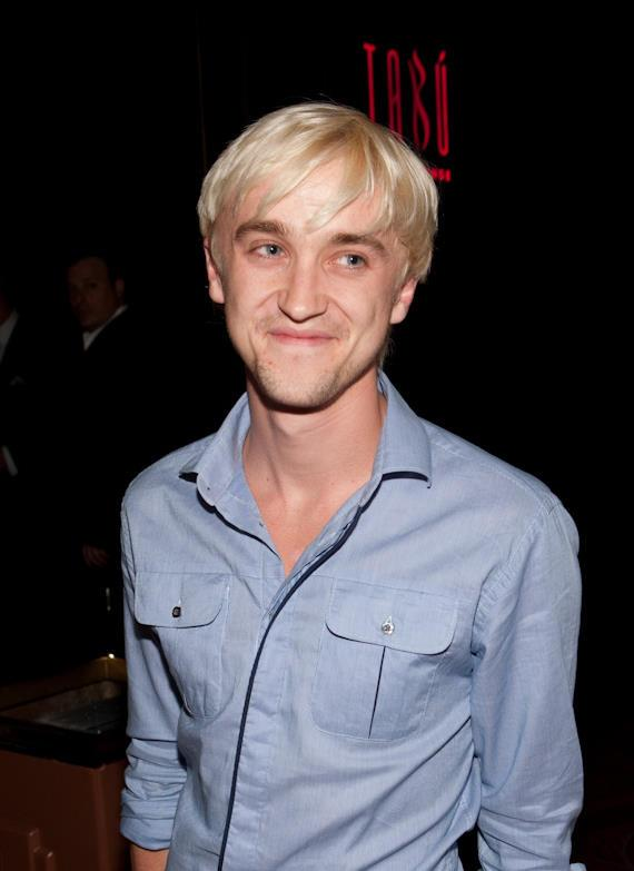 Tom Felton from Harry Potter