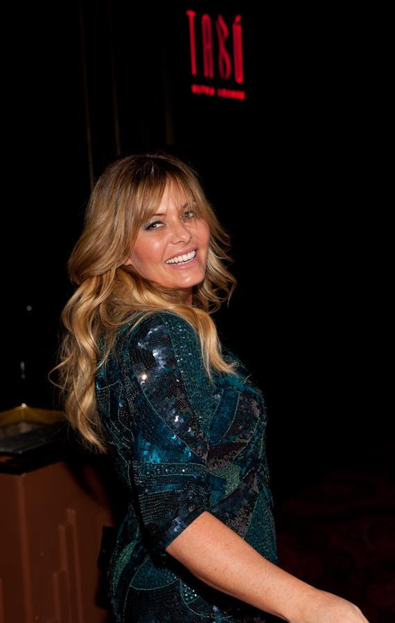 Nicole Eggert celebrates 38th birthday at Tabú Ultra Lounge