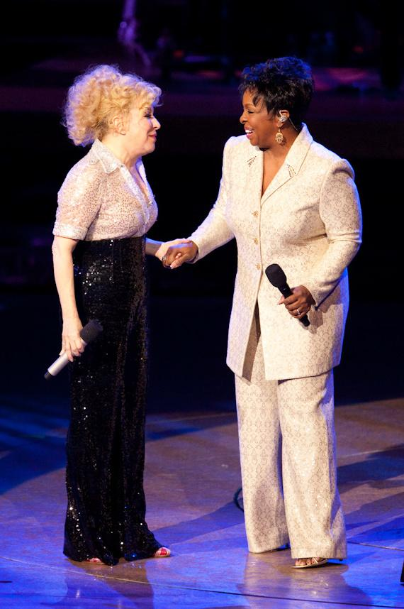 Bette Midler and Gladys Knight