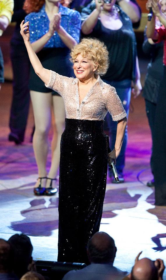 Bette Midler takes final curtain call for The Showgirl Must Go On at Caesars Palace