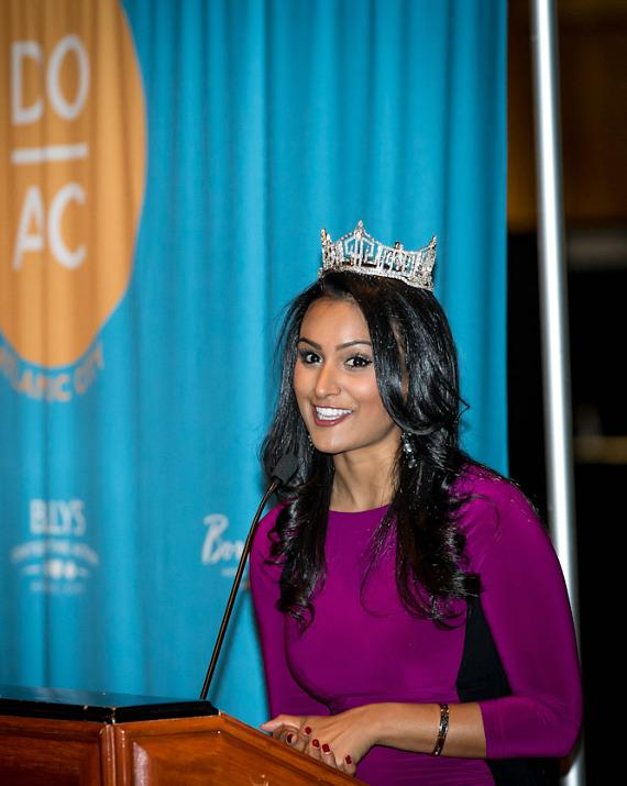 Miss America Nina Davuluri at NMX: New Media Expo at Rio All-Suite Hotel