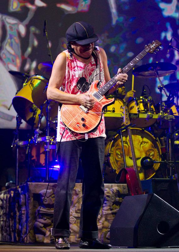 Carlos Santana and the Santana Band return at The Joint