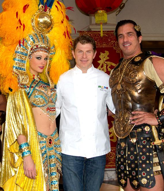 Bobby Flay of Mesa Grill and Caesars Palace celebrate Chinese New Year