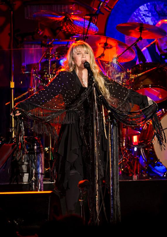 Fleetwood Mac performs at the Monster Retail Awards at Paris Las Vegas Hotel & Casino