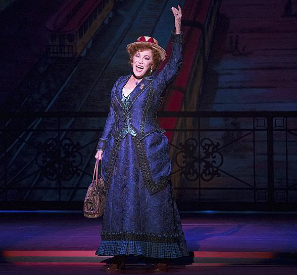 """Tony Award-Winning Broadway Legend Betty Buckley Stars in First National Tour of """"Hello, Dolly!,"""" Performing at The Smith Center March 19-24, 2019"""