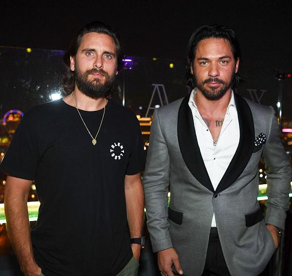 "Scott Disick and Jason ""Jroc"" Craig at APEX Social Club at PALMS Casino Resort"