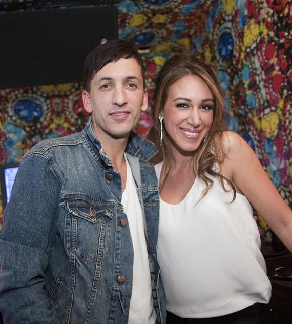 DJ Clinton Sparks and Haylie Duff at Vanity