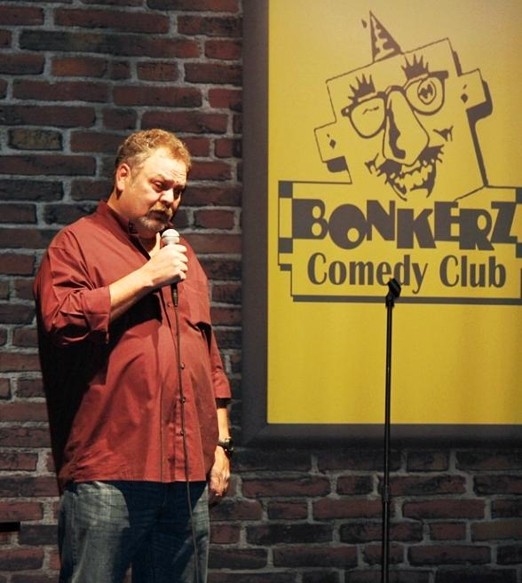 Bob Meddles performs at Bonkerz