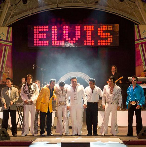 Second Annual Las Vegas Ultimate Elvis Tribute Artist Contest at Fremont Street Experience May 6-7