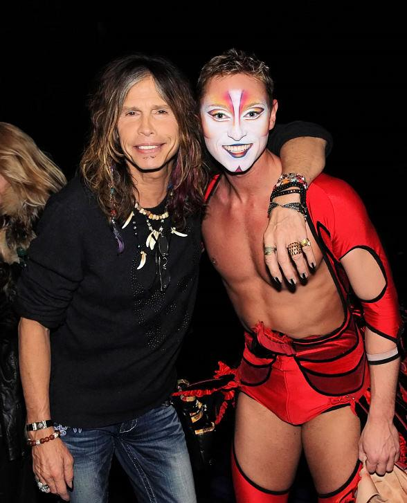 Steven Tyler Attends Mystere by Cirque du Soleil at Treasure Island