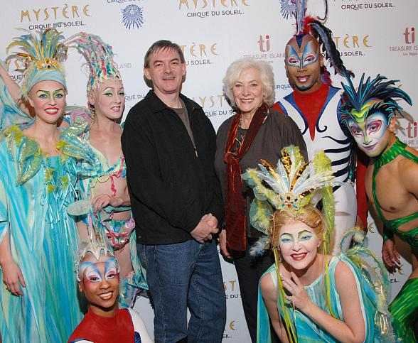 Betty Buckley Visits Mystère by Cirque du Soleil