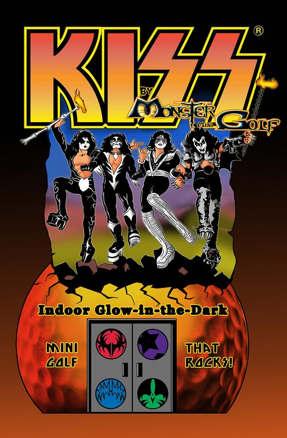 Tickets Now On Sale for KISS By Monster Mini Golf