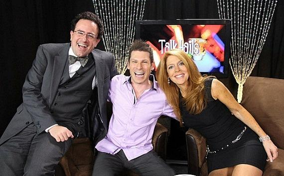 Musician Kenny Davidsen, Mike Hammer and Kelly Clinton-Holmes on Talktails