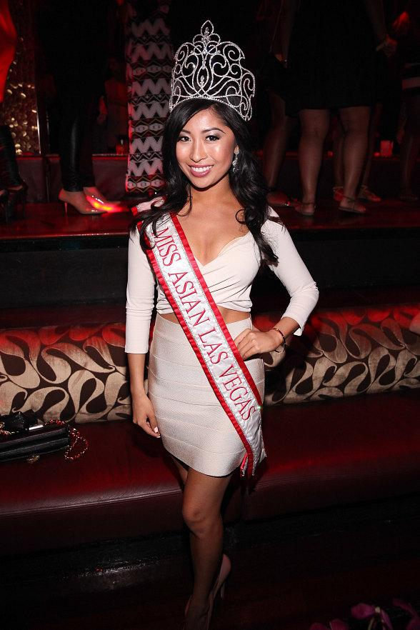 2013 Miss Asian Las Vegas Catherine Ho at TAO