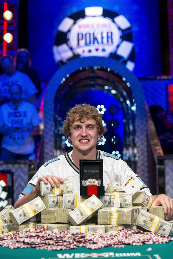 2013 WSOP Main Event Champion Ryan Reiss