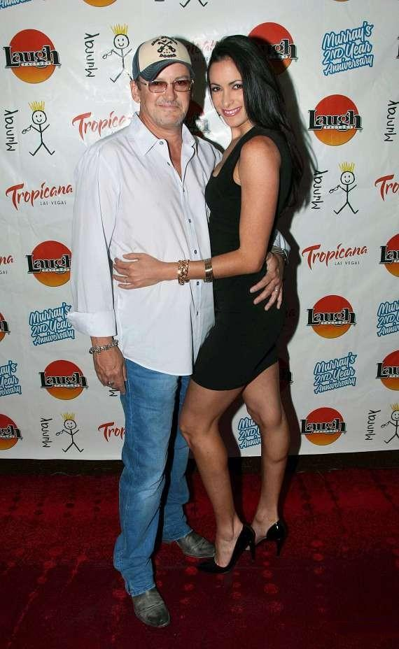 Actor/Director Troy Burgess and FANTASY Dancer Yesiney Burgess at Tropicana Las Vegas
