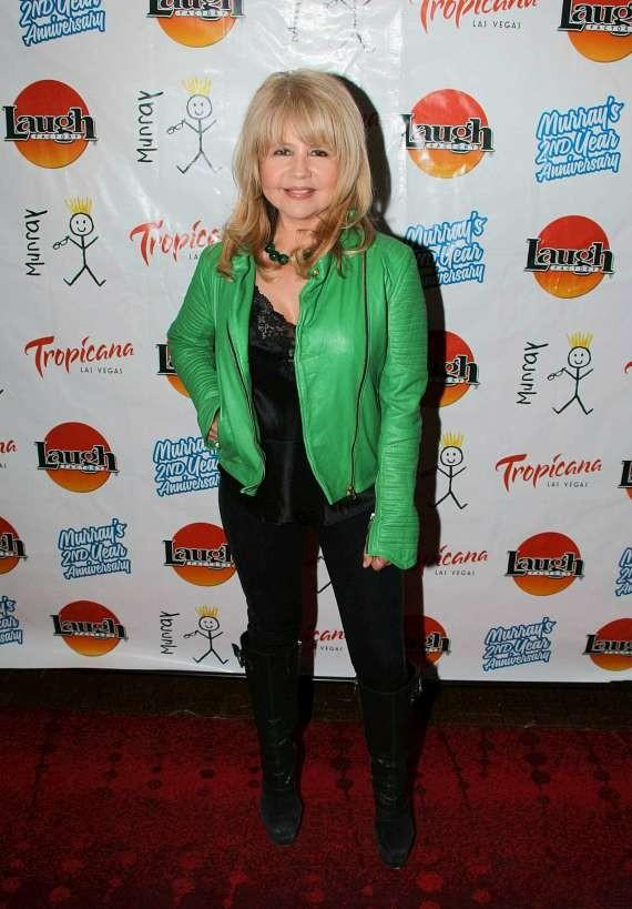 Actress and singer Pia Zadora