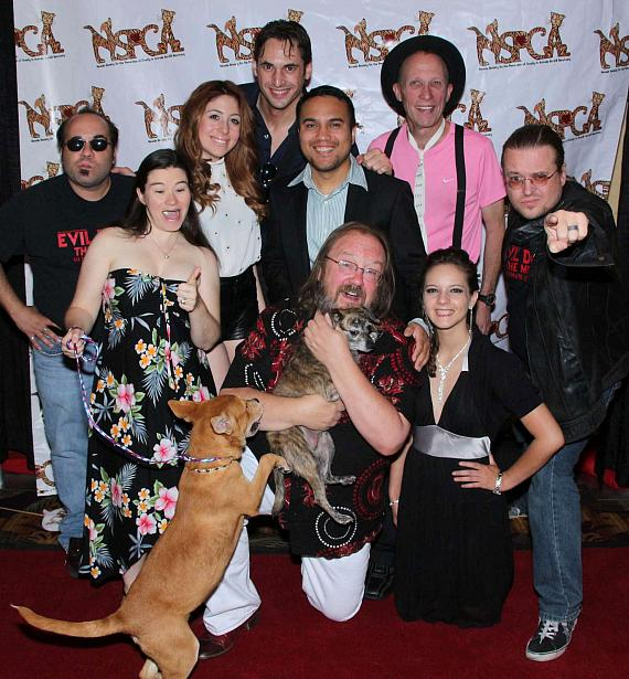"Cast of ""Evil Dead The Musical"" at ""Funny Bones"" NSPCA Benefit Show"