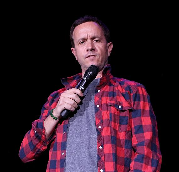 """Pauly Shore performs at """"Funny Bones"""" NSPCA Benefit Show"""