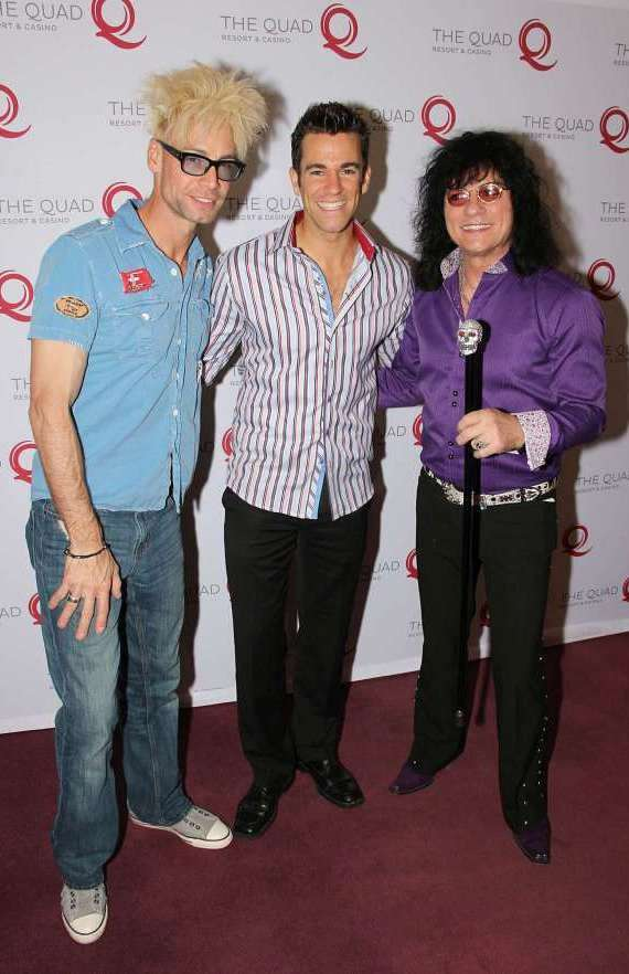 Murray SawChuck, Jeff Civillico and Paul Shortino
