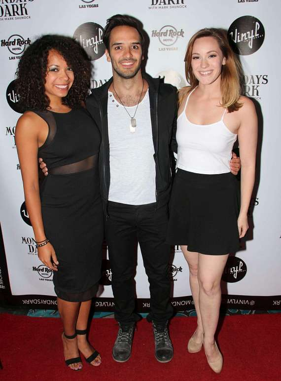 Celina Nightengale, Patrick Joyce & Holly Laurent of Rock of Ages