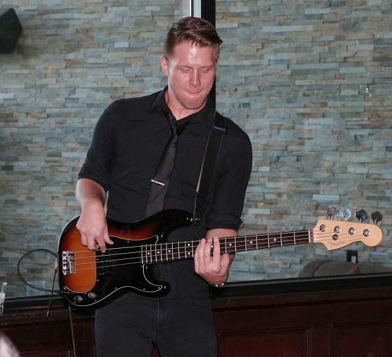 Bass player in Ryan Whyte Maloney band
