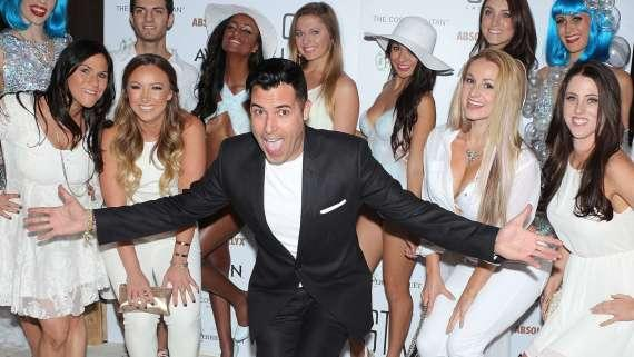 Frankie Moreno at STK White Party