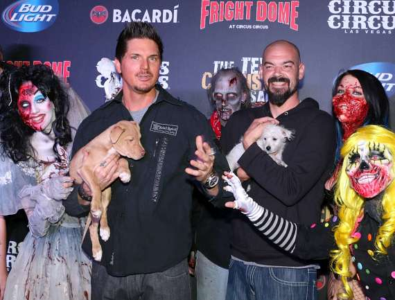 Zak Bagans and Aaron Goodwin of Ghost Adventures