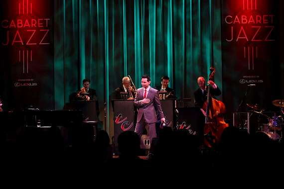 "Travis Cloer performs in ""Christmas at My Place"" at The Smith Center in Las Vegas"