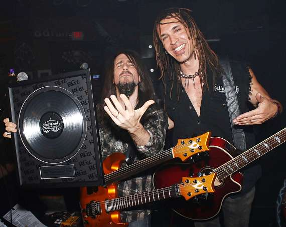 Bumblefoot and Jason Ebs