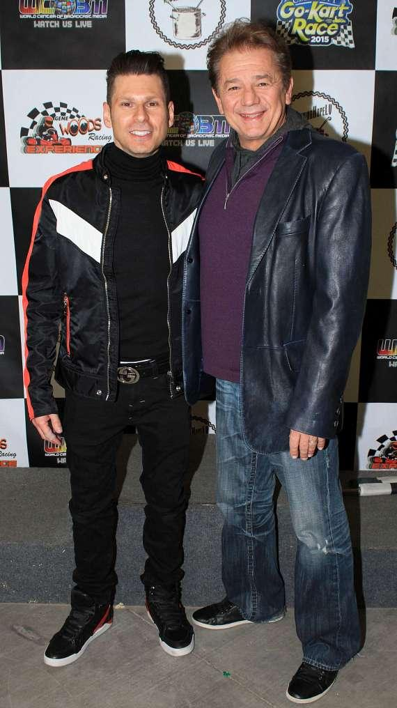 Mike Hammer and actor Adrian Zmed