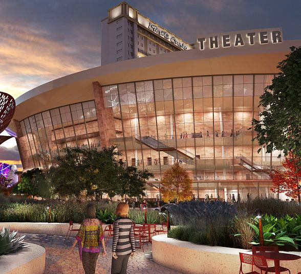 MGM Resorts Announces Development Plans for 5,000-Seat Theater at Monte Carlo