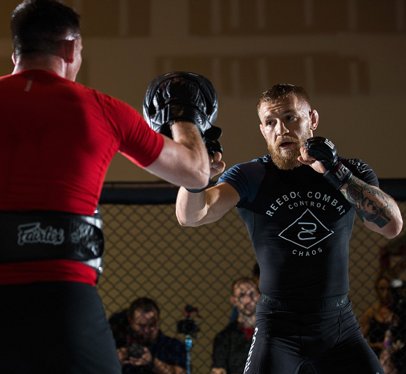 Featherweight Champion Conor McGregor talks about