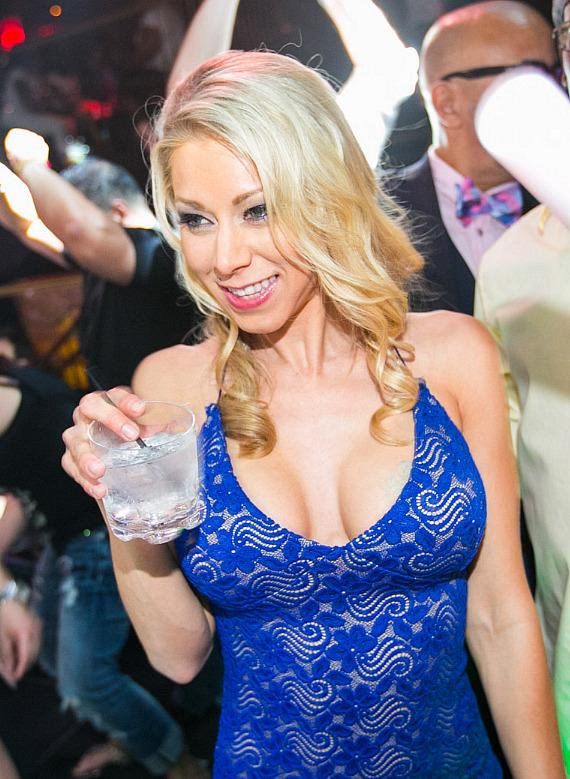 Katie Morgan celebrates birthday at Body English in Las Vegas