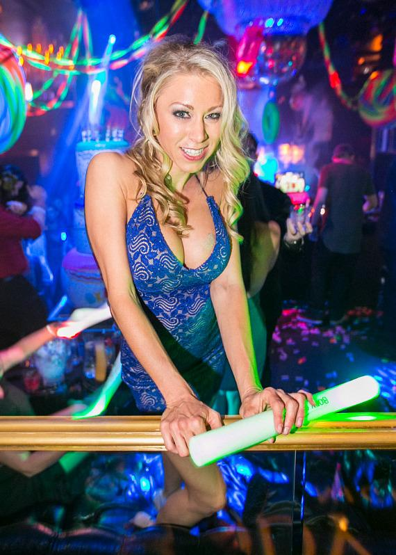 Katie Morgan celebrates birthday at Body English